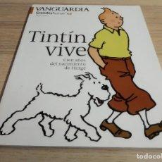 Colecionismo Jornal La Vanguardia: TINTÍN VIVE. CIEN AÑOS DEL NACIMIENTO DE HERGÉ. LA VANGUARDIA. GRANDES TEMAS 03. Lote 193391071