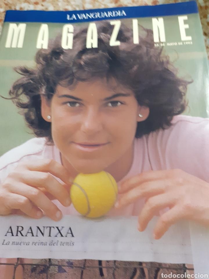 Coleccionismo Periódico La Vanguardia: Revista 5/1993 ARANTXA LA REINA DEL TENIS-ENTREV.-, PILAR MIRO, ELS TINATS, -COCINA DE PRIMAVERA-, M - Foto 2 - 194132770