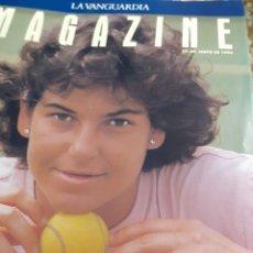 Coleccionismo Periódico La Vanguardia: REVISTA 5/1993 ARANTXA LA REINA DEL TENIS-ENTREV.-, PILAR MIRO, ELS TINATS, -COCINA DE PRIMAVERA-, M. Lote 194132770