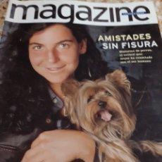 Coleccionismo Periódico La Vanguardia: REVISTA 11/1997 ARANTXA Y SU MASCOTA, NOSRALGIA ESTRELLAS, ANTONIO TABUCCHI, CAMERON DIAZ FOTO. Lote 194134728