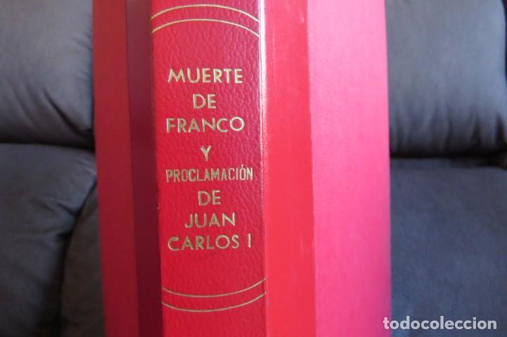 MUERTE DE FRANCO Y PROCLAMACION DE JUAN CARLOS I - ENCUADERNADO LA VANGUARDIA (Coleccionismo - Revistas y Periódicos Modernos (a partir de 1.940) - Periódico La Vanguardia)