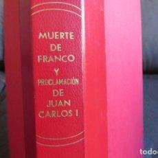Coleccionismo Periódico La Vanguardia: MUERTE DE FRANCO Y PROCLAMACION DE JUAN CARLOS I - ENCUADERNADO LA VANGUARDIA. Lote 194632652