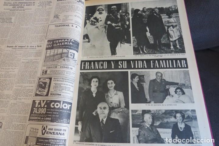 Coleccionismo Periódico La Vanguardia: MUERTE DE FRANCO Y PROCLAMACION DE JUAN CARLOS I - ENCUADERNADO LA VANGUARDIA - Foto 13 - 194632652