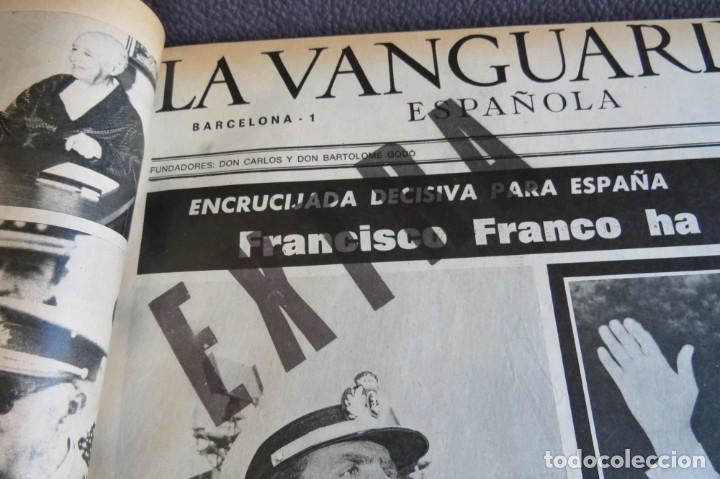 Coleccionismo Periódico La Vanguardia: MUERTE DE FRANCO Y PROCLAMACION DE JUAN CARLOS I - ENCUADERNADO LA VANGUARDIA - Foto 16 - 194632652