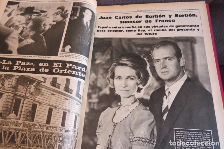 Coleccionismo Periódico La Vanguardia: MUERTE DE FRANCO Y PROCLAMACION DE JUAN CARLOS I - ENCUADERNADO LA VANGUARDIA - Foto 21 - 194632652