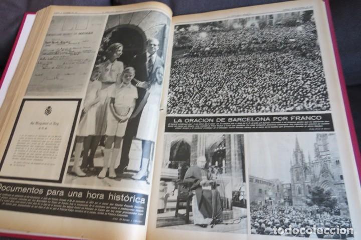 Coleccionismo Periódico La Vanguardia: MUERTE DE FRANCO Y PROCLAMACION DE JUAN CARLOS I - ENCUADERNADO LA VANGUARDIA - Foto 24 - 194632652
