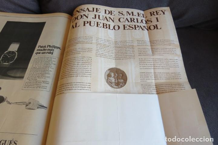 Coleccionismo Periódico La Vanguardia: MUERTE DE FRANCO Y PROCLAMACION DE JUAN CARLOS I - ENCUADERNADO LA VANGUARDIA - Foto 25 - 194632652