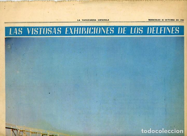 LA VANGUARDIA ESPAÑOLA. 26/12/1966 SUPLEMENTO ACUARIO DE BARCELONA. INST. INVESTIGACIONES PESQUERAS (Coleccionismo - Revistas y Periódicos Modernos (a partir de 1.940) - Periódico La Vanguardia)