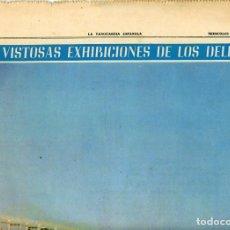 Coleccionismo Periódico La Vanguardia: LA VANGUARDIA ESPAÑOLA. 26/12/1966 SUPLEMENTO ACUARIO DE BARCELONA. INST. INVESTIGACIONES PESQUERAS. Lote 195322180