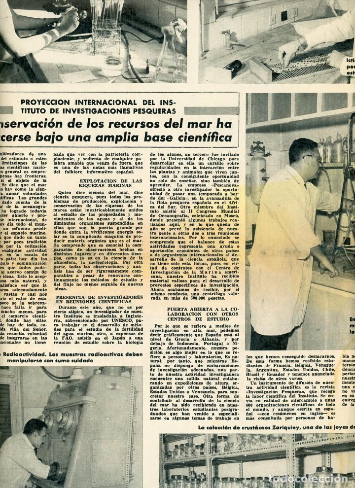 Coleccionismo Periódico La Vanguardia: La Vanguardia Española. 26/12/1966 Suplemento Acuario de Barcelona. Inst. Investigaciones Pesqueras - Foto 4 - 195322180