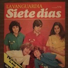Colecionismo Jornal La Vanguardia: LA VANGUARDIA - REVISTA SIETE DIAS 1982 - PARCHÍS DE VACACIONES. Lote 196230852