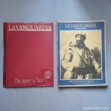 Coleccionismo Periódico La Vanguardia: DE AYER A HOY - LA VANGUARDIA. Lote 198181658