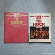 Coleccionismo Periódico La Vanguardia: 30 AÑOS DE ROCK - LA VANGUARDIA. Lote 198182823