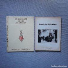 Colecionismo Jornal La Vanguardia: LA SOCIEDAD CIVIL CATALANA - LA VANGUARDIA. Lote 198185063