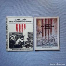 Coleccionismo Periódico La Vanguardia: CATALUÑA EN LA GUERRA CIVIL ESPAÑOLA - LA VANGUARDIA. Lote 198185342