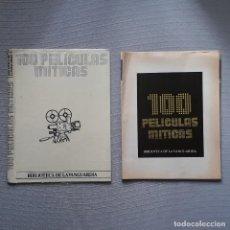 Coleccionismo Periódico La Vanguardia: 100 PELÍCULAS MÍTICAS - BIBLIOTECA LA VANGUARDIA. Lote 198192447