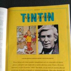 Colecionismo Jornal La Vanguardia: DOS REVISTAS CON ARTICULO SOBRE TINTÍN. Lote 200268027
