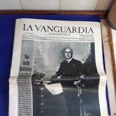Coleccionismo Periódico La Vanguardia: ANTIGUO PERIÓDICO LA VANGUARDIA,(1 DE OCTUBRE DE 1968). Lote 201594343