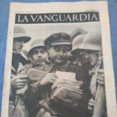 Coleccionismo Periódico La Vanguardia: LA VANGUARDIA 27 MARZO 1937,LLEGA LA CORRESPONDENCIA,LA CASA DE LA CNT FAI,AYUDA A MADRID. Lote 202567040
