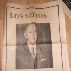 Colecionismo Jornal La Vanguardia: LOS SITIOS DE GERONA 20 NOVIEMBRE 1975 - FRANCO HA MUERTO. Lote 202684958
