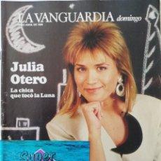 Coleccionismo Periódico La Vanguardia: REVISTA LA VANGUARDIA DOMINGO 30 DE ABRIL DE 1989 JULIA OTERO MIGUEL INDURAIN ISABEL GEMIO COCA COLA. Lote 202985692
