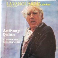 Colecionismo Jornal La Vanguardia: REVISTA LA VANGUARDIA DOMINGO 14 DE AGOSTO DE 1988 ANTHONY QUINN OLIMPIADAS TOKIO 1964. Lote 202986918