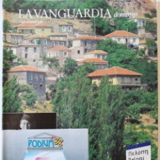 Colecionismo Jornal La Vanguardia: REVISTA LA VANGUARDIA DOMINGO 14 DE JULIO DE 1988 PINK FLOYD OLIMPIADAS BERLÍN 1936 ANTONI CLAVÉ. Lote 202987597