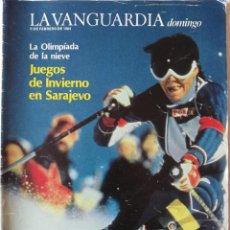 Coleccionismo Periódico La Vanguardia: REVISTA LA VANGUARDIA DOMINGO 5 DE FEBRERO DE 1984 EMMA SUAREZ JUEGOS OLÍMPICOS DE INVIERNO. Lote 202992631