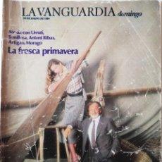 Coleccionismo Periódico La Vanguardia: REVISTA LA VANGUARDIA DOMINGO 29 DE ENERO DE 1984 LOLA MERINO. Lote 202992813