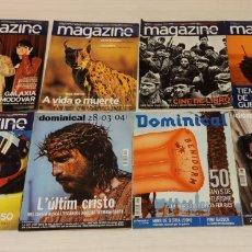 Coleccionismo Periódico La Vanguardia: 8 REVISTAS MAGAZINE, DOMINICAL. EL PERIÓDICO. Lote 203004138