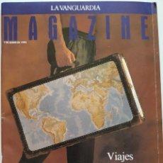Coleccionismo Periódico La Vanguardia: REVISTA LA VANGUARDIA MAGAZINE 1992 MICHAEL JORDAN ENRIQUE SARASOLA PERE PRUNA JACQUELINE DE LA VEGA. Lote 203182165