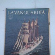 Coleccionismo Periódico La Vanguardia: LA VANGUARDIA , CIEN AÑOS DE LA VIDA EN EL MUNDO - LA MARINA. Lote 204975285