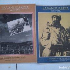 Coleccionismo Periódico La Vanguardia: LA VANGUARDIA DE AYER A HOY - LAS GUERRAS DE UN SIGLO - 2 FASCICULOS, COMPLETO.. Lote 204975338