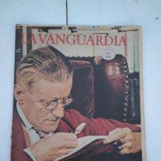 Coleccionismo Periódico La Vanguardia: LA VANGUARDIA , CIEN AÑOS DE LA VIDA EN EL MUNDO - LITERATURA UNIVERSAL. Lote 204975655