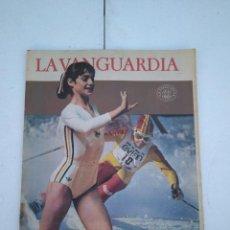 Coleccionismo Periódico La Vanguardia: LA VANGUARDIA , CIEN AÑOS DE LA VIDA EN EL MUNDO - LAS OLIMPIADAS. Lote 204975875
