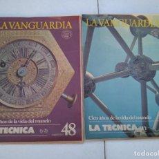 Coleccionismo Periódico La Vanguardia: LA VANGUARDIA , CIEN AÑOS DE LA VIDA EN EL MUNDO - LA TECNICA, 2 FASCICULOS, COMPLETO. Lote 204976165