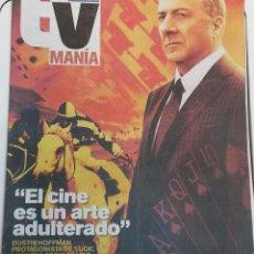 Coleccionismo Periódico La Vanguardia: SUPLEMENTO TVMANÍA · DEL 18 AL 24 DE FEBRERO DE 2012 (EN PORTADA: DUSTIN HOFFMAN · 24 PÁGINAS). Lote 204996417