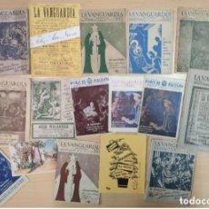 Coleccionismo Periódico La Vanguardia: 17 FELICITACIONES DE NAVIDAD, LA VANGUARDA A PARTIR DE 1940. Lote 205541947