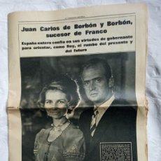 Coleccionismo Periódico La Vanguardia: PERIÓDICO MUERTE FRANCO TRANSICIÓN.GUERRA CIVIL.MILITAR.FALANGE.EJERCITO.GENERALISIMO.. Lote 208389740