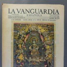 Coleccionismo Periódico La Vanguardia: PERIÓDICO LA VANGUARDIA ESPAÑOLA BARCELONA DOMINGO 24 DE SEPTIEMBRE DE 1961-NUM 29.643. Lote 208589475