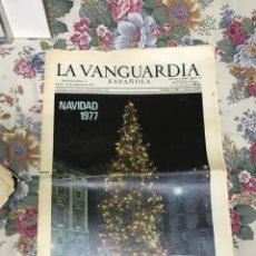 Collectionnisme Journal La Vanguardia: DIARIO LA VANGUARDIA. Lote 210021055