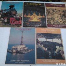 Coleccionismo Periódico La Vanguardia: LOTE, LOTAZO DE 45 SUPLEMENTOS TEMATICOS DEL DIARIO LA VANGUARDIA (AÑOS 80). Lote 211649774
