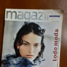 Coleccionismo Periódico La Vanguardia: REVISTA MAGAZINE 10/1998 TODO.MODA HOMBRE/MUJ.- LAURA PONTE,NARCISO RODRIGUEZ, AMAYA ARZUAGA, MºANA. Lote 214920766