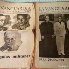 Colecionismo Jornal La Vanguardia: PORTADA Y CONTRAPORTADA LA VANGUARDIA - 2/3 DE SEPTIEMBRE DE 1939 - COMIENZO SEGUNDA GUERRA MUNDIAL. Lote 215239827