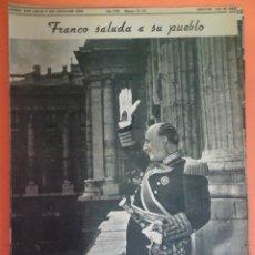 Coleccionismo Periódico La Vanguardia: LOTE RECORTES LA VANGUARDIA, 1954, FRANCO, VER FOTOS. Lote 215537337