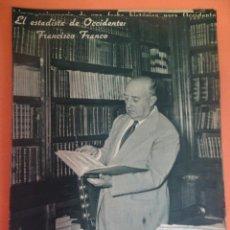 Coleccionismo Periódico La Vanguardia: LOTE RECORTES LA VANGUARDIA, 1954, FRANCO, VER FOTOS. Lote 215537502