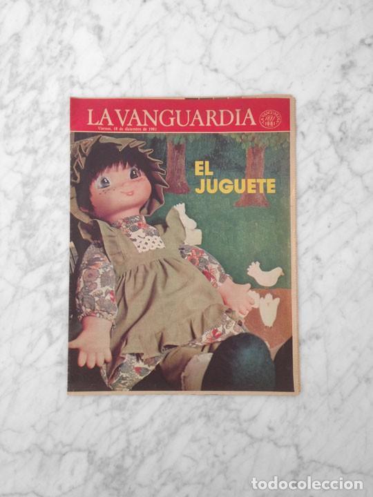 EL JUGUETE - 1981 - AIRGAM BOYS, TENTE, EXIN, SCALEXTRIC, IBERTREN, TCR, CONGOST, BARBIE (Coleccionismo - Revistas y Periódicos Modernos (a partir de 1.940) - Periódico La Vanguardia)
