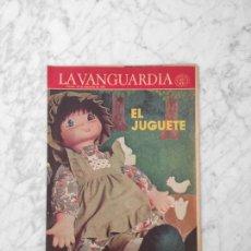 Coleccionismo Periódico La Vanguardia: EL JUGUETE - 1981 - AIRGAM BOYS, TENTE, EXIN, SCALEXTRIC, IBERTREN, TCR, CONGOST, BARBIE. Lote 217986662