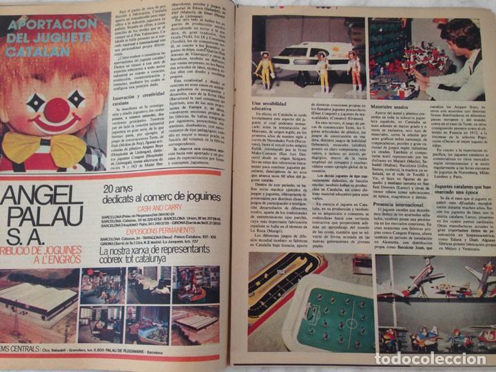 Coleccionismo Periódico La Vanguardia: EL JUGUETE - 1981 - AIRGAM BOYS, TENTE, EXIN, SCALEXTRIC, IBERTREN, TCR, CONGOST, BARBIE - Foto 3 - 217986662