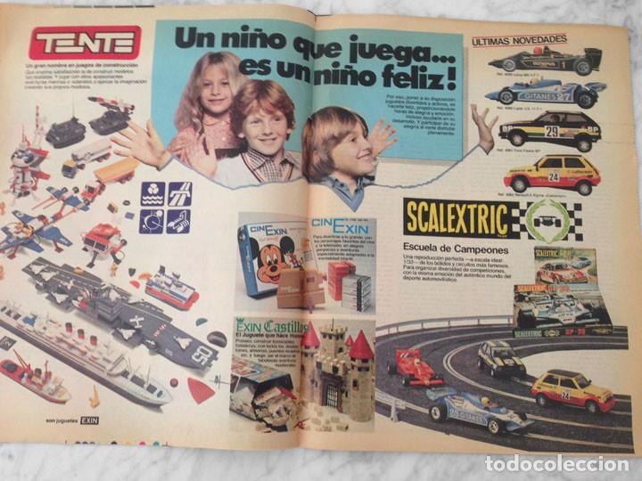 Coleccionismo Periódico La Vanguardia: EL JUGUETE - 1981 - AIRGAM BOYS, TENTE, EXIN, SCALEXTRIC, IBERTREN, TCR, CONGOST, BARBIE - Foto 4 - 217986662